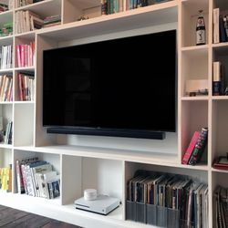Photo Of Galaxy Home Theatres Glendale Ca United States Bookcase Install