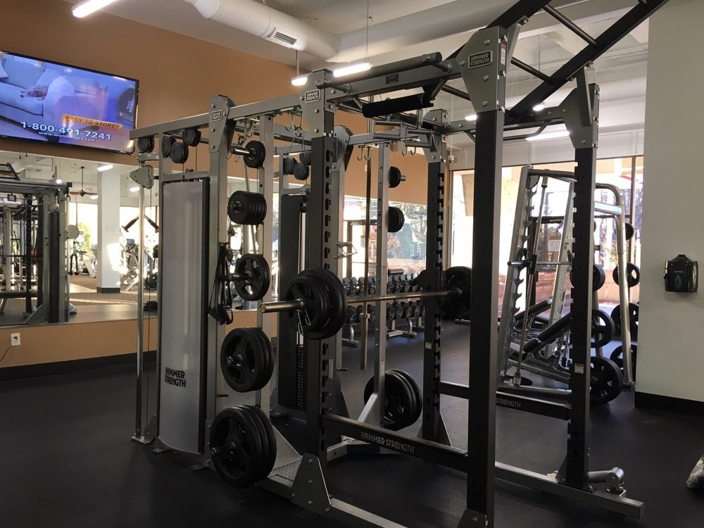 Squat rack and cable machine (hammer strength) - Yelp