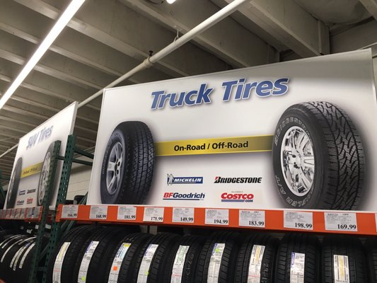 Costco Tires 11260 White Rock Rd Rancho Cordova, CA Tire Dealers