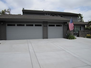 Standard Gray Color Driveway With Hand Tooled Joints And
