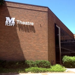 An outside look a the UM-Flint Theatre