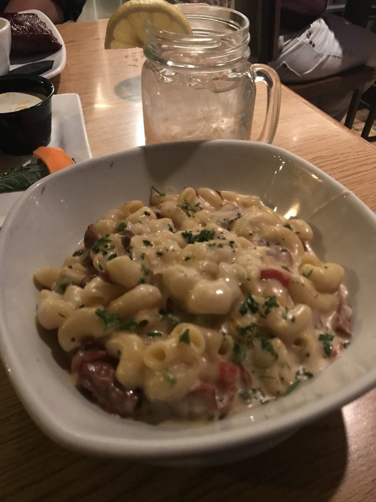 mac and cheese with elk sausage - Yelp
