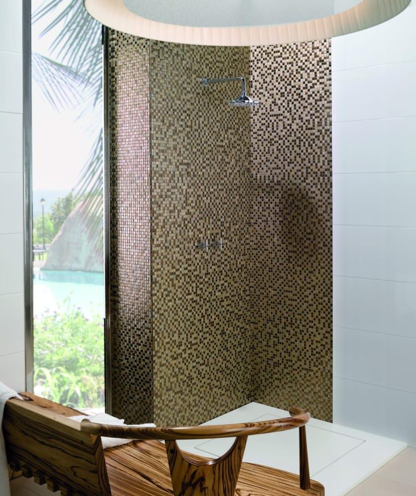 Geflieste Dusche mosaik geflieste dusche - yelp