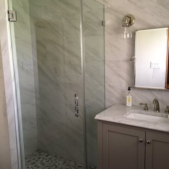 Shower Doors Of Houston Photos Reviews Glass Mirrors - Bathroom partitions houston texas