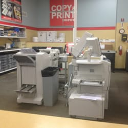 office depot label printing