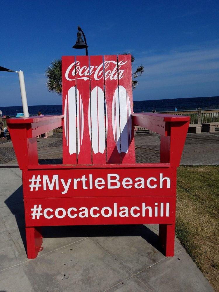 Photo Of Myrtle Beach Boardwalk Promenade North Sc United States