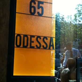 Caf Ef Bf Bd De La Place Rue D Odessa