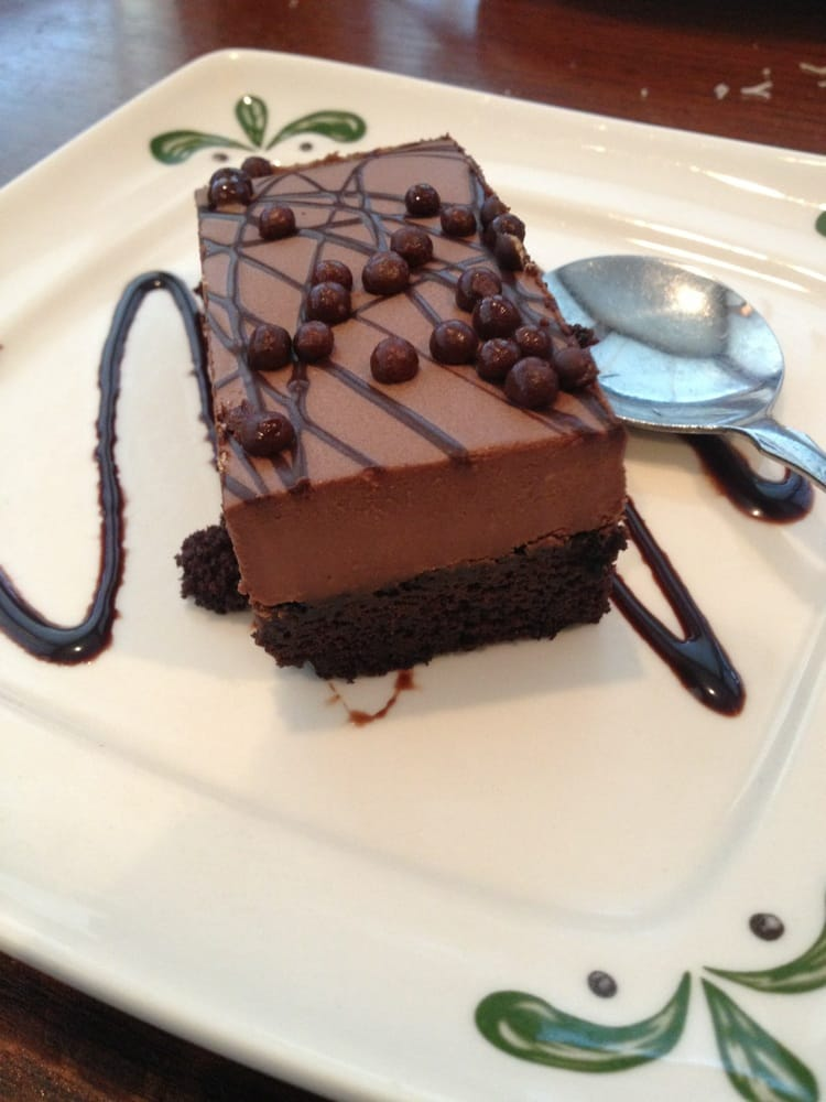 Chocolate Mousse Cake Very Rich And A Little Too Sweet For My Taste But Otherwise Very