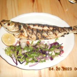 Grilled branzino yelp for Anatolia mediterranean turkish cuisine