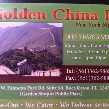 Chinese Food Boca Raton Fl Delivery
