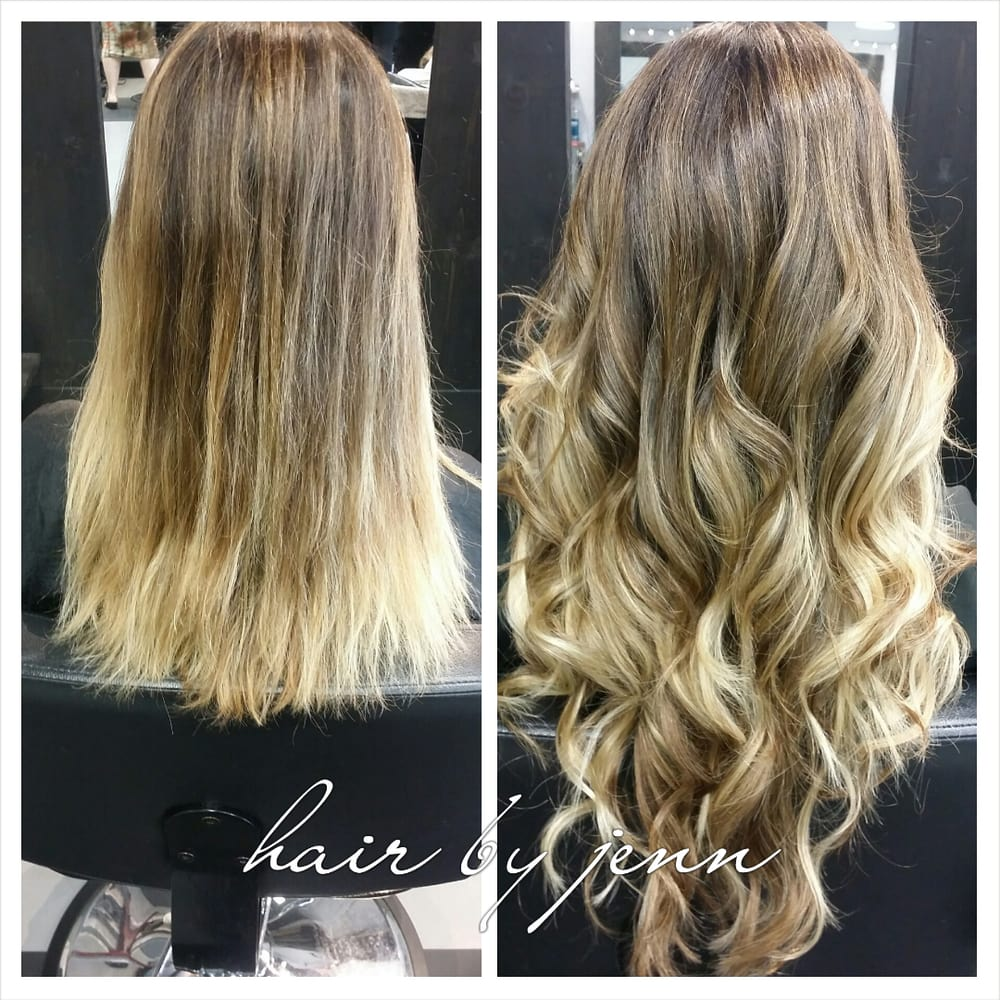 Great Lengths Hair Extensions Balayage Color Yelp