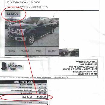 Leif Johnson Ford Austin Tx >> Leif Johnson Ford 71 Photos 508 Reviews Auto Repair 501 E