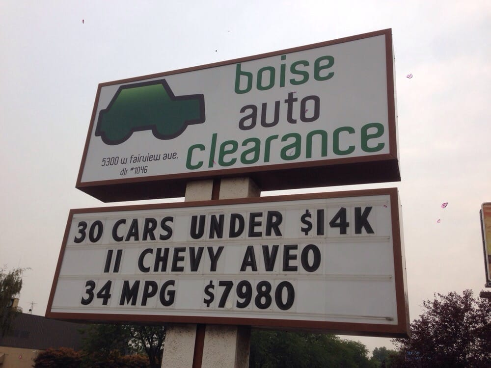 boise auto clearance car dealers 5300 w fairview ave boise id yelp. Black Bedroom Furniture Sets. Home Design Ideas