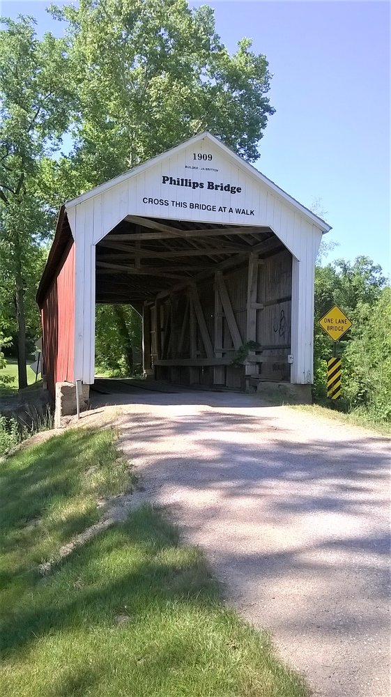 Phillips Covered Bridge: 299 Arabia Rd, Rockville, IN
