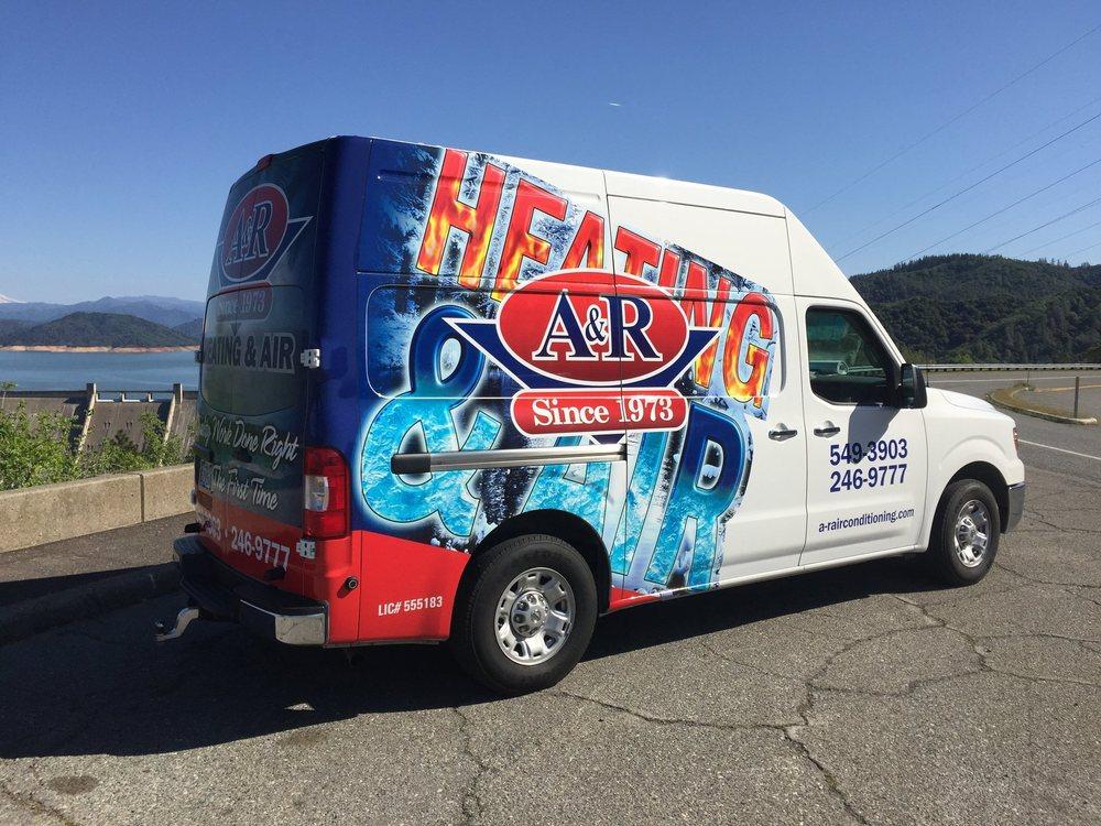 A & R Heating & Air Conditioning: 4305 Caterpillar Rd, Redding, CA