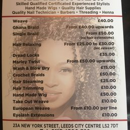 Photo Of Afro Euro Hair Beauty Salon Leeds West Yorkshire United Kingdom