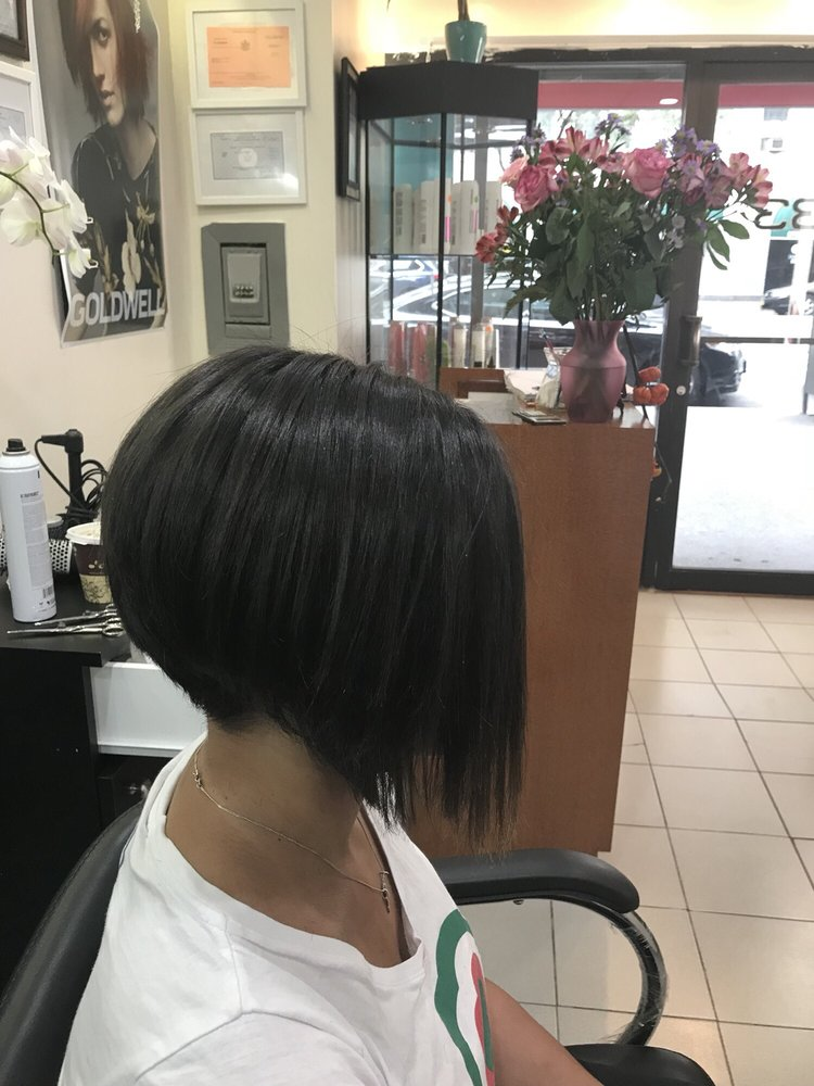 Nice job by xiomara yelp for Nick s hair salon