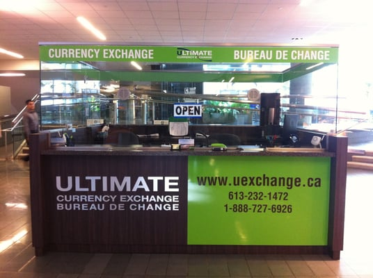 Photo Of Ultimate Foreign Currency Exchange Ottawa On Canada Downtown Branch At