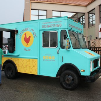 Chicken Mac Truck Food Trucks Blue Ash Oh Restaurant Reviews