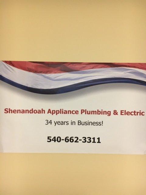 Shenandoah Appliance Plumbing & Electric: 174 Garber Ln, Winchester, VA