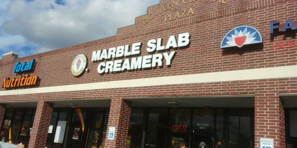Marble Slab Creamery: 4106 Dowlen Rd, Beaumont, TX
