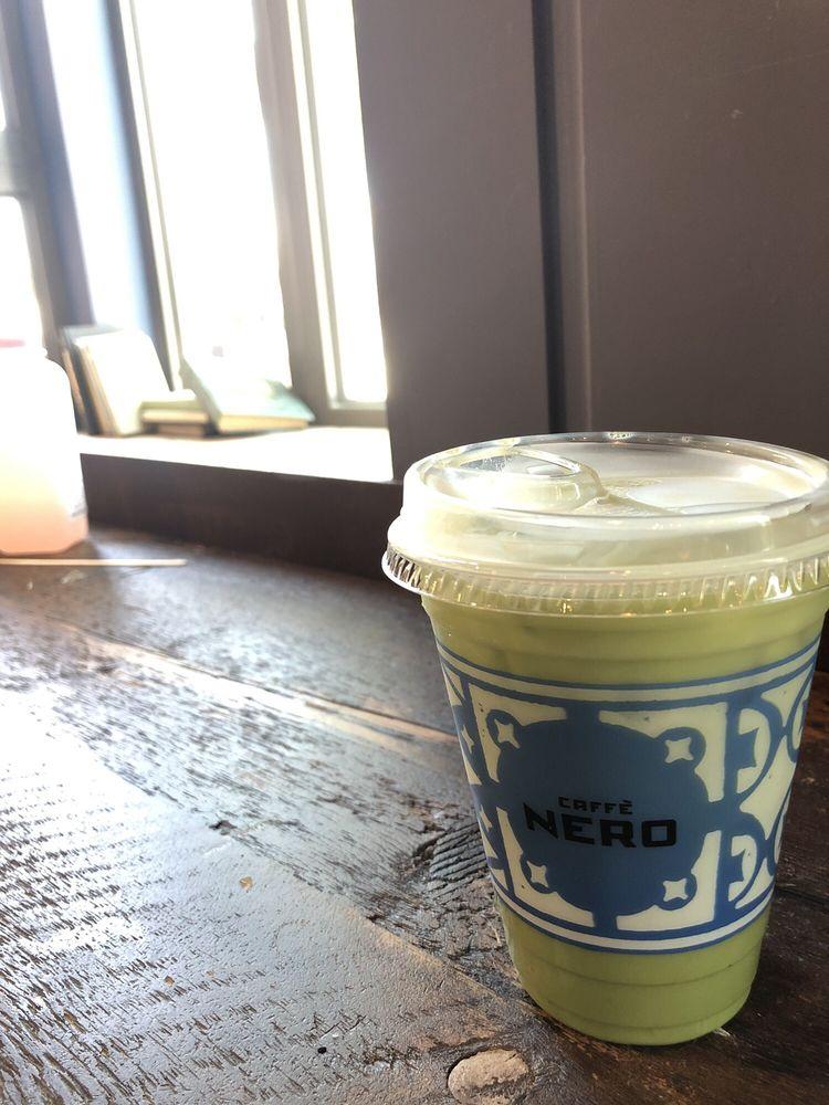 Caffè Nero: 1868 Massachusetts Ave, Cambridge, MA