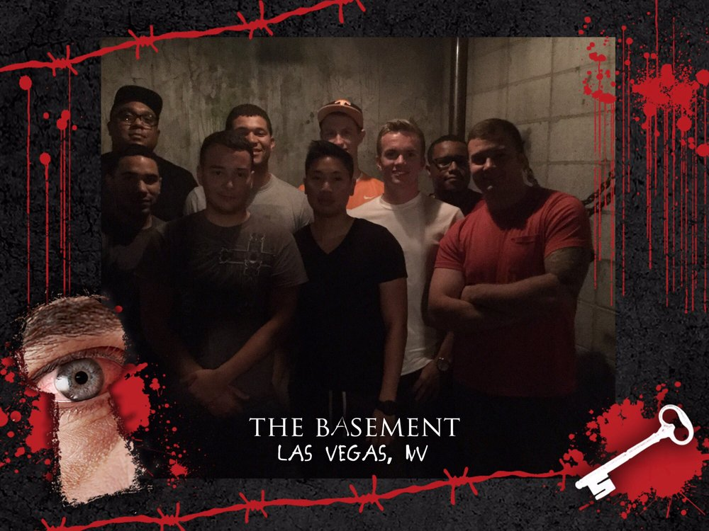 Escape Room Live Basement Vegas