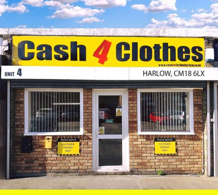 Find Cash for Clothes in Harlow, CM Get contact details, videos, photos, opening times and map directions. Search for local Recycling near you on Yell.
