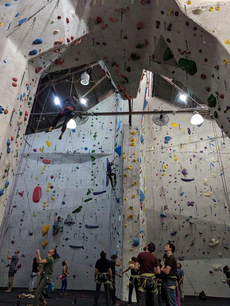 The Stronghold Climbing Gym