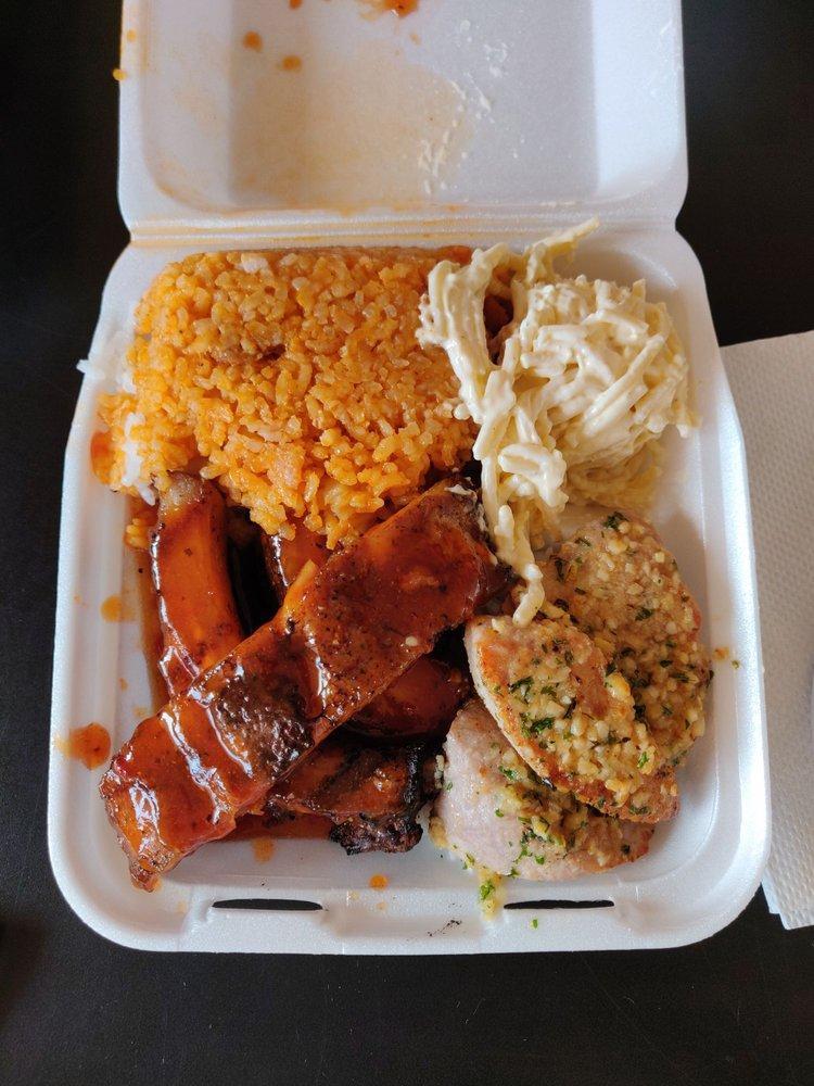 Food from Kau Kau Grill