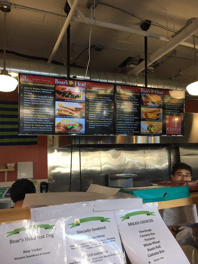 Metropolitan Deli & Cafe: 101 John St, Seattle, WA