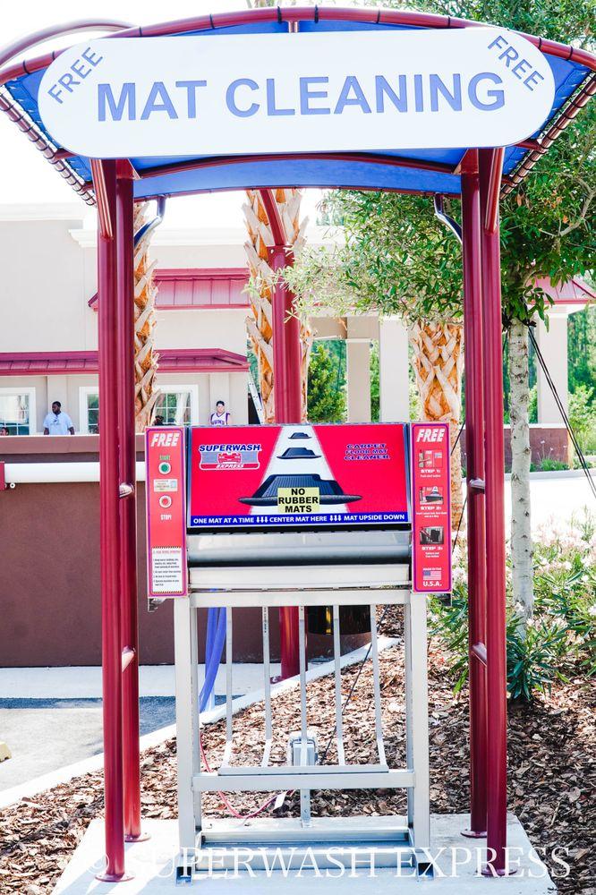 Superwash Express: 1881 Lpga Blvd, Daytona Beach, FL