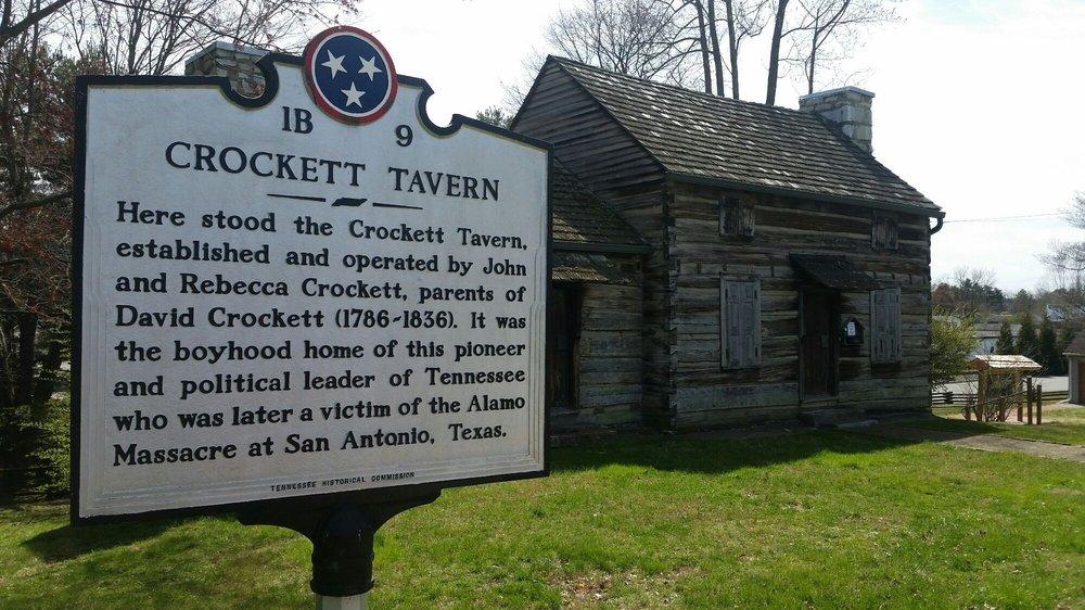 Crockett Tavern Museum: 2002 Morningside Dr, Morristown, TN