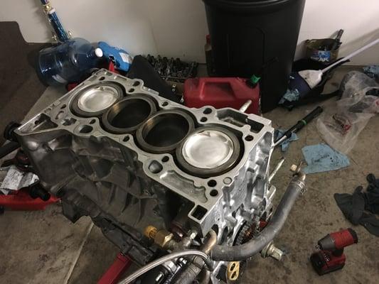 Louie Built Auto Repair & Service 5913 Mission Gorge Rd San