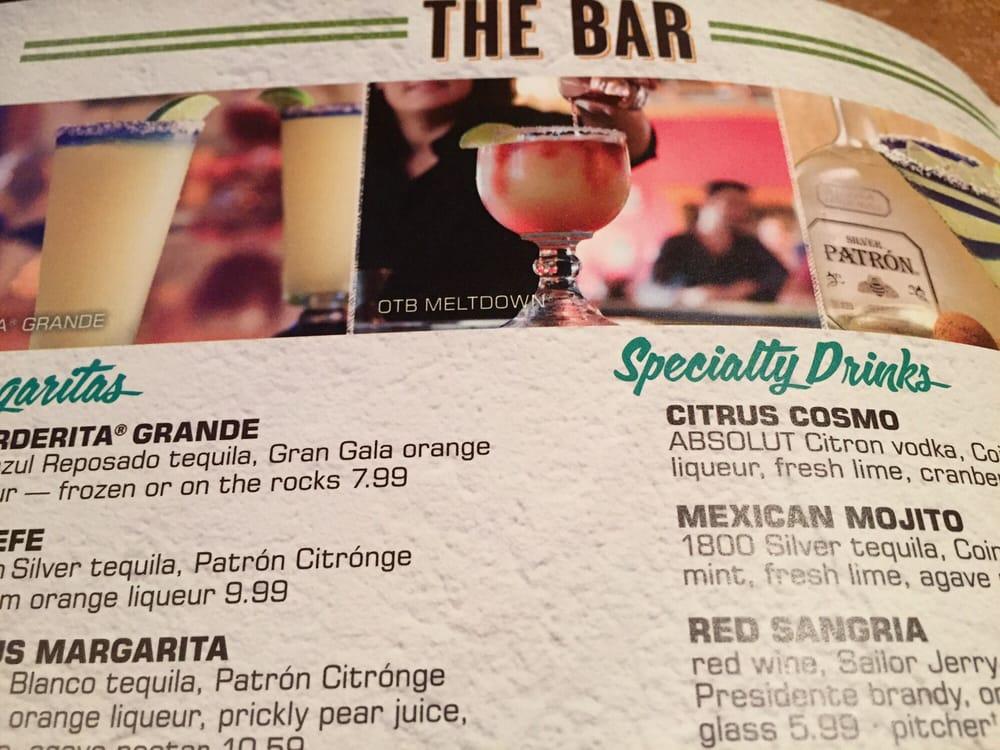 Some Drinks menu
