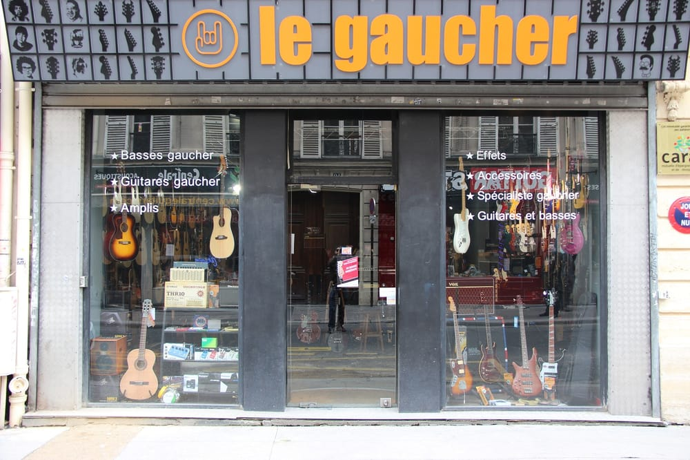 magasin de guitare et basse pour gaucher paris yelp. Black Bedroom Furniture Sets. Home Design Ideas