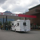 Photo of United Petroleum Products - Lillooet, BC, Canada. Outside of ...