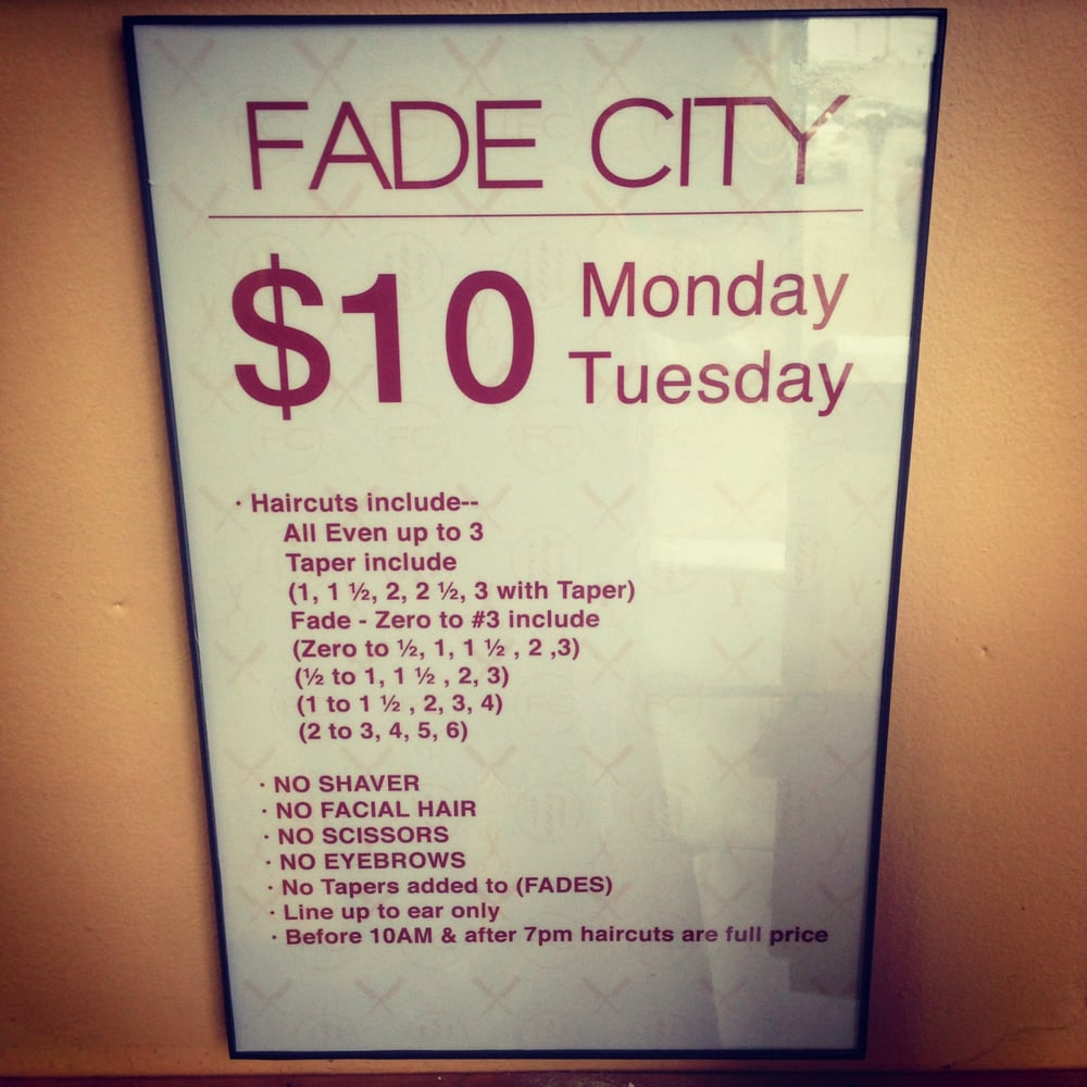 tuesday haircut special our monday tuesday haircut specials yelp 4666 | o