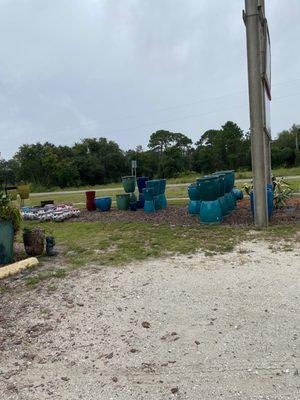 Frost's Pottery Garden near St. George Island in St. George Island, FL