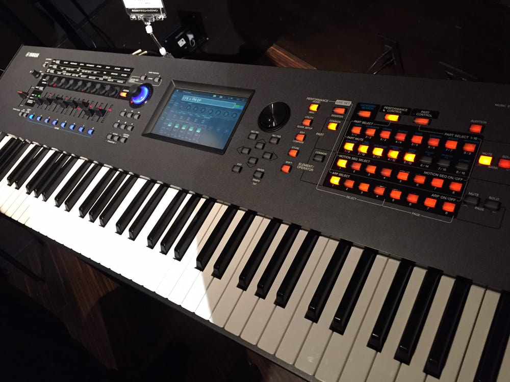 traded in my motif xf8 keyboard for the new yamaha montage 88 workstation amazing keyboard. Black Bedroom Furniture Sets. Home Design Ideas