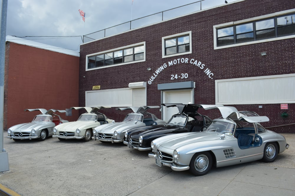 gullwing motor cars buy sell classic cars 30 year