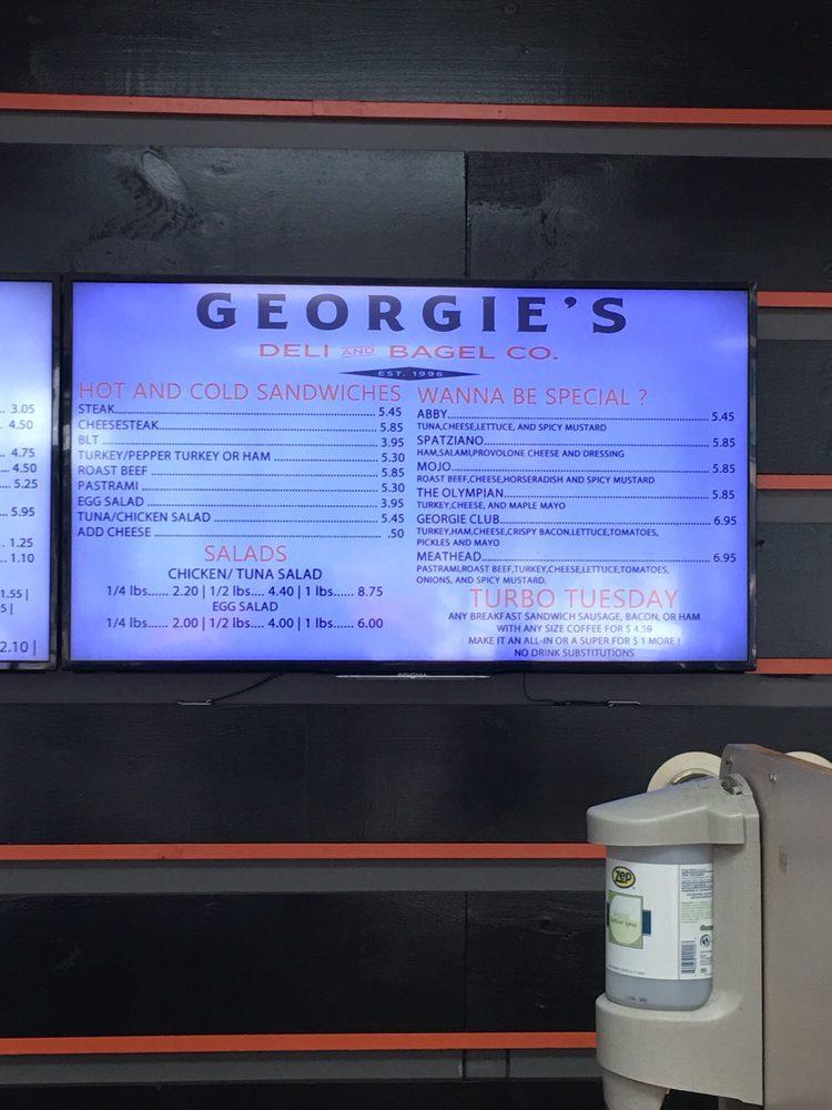 Georgie's Deli and Bagel Company: 110 W Front St, Berwick, PA