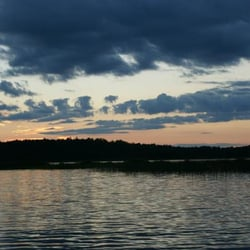Photo Of Fremont S Point Nevis Mn United States Sunset On Mantrap Lake