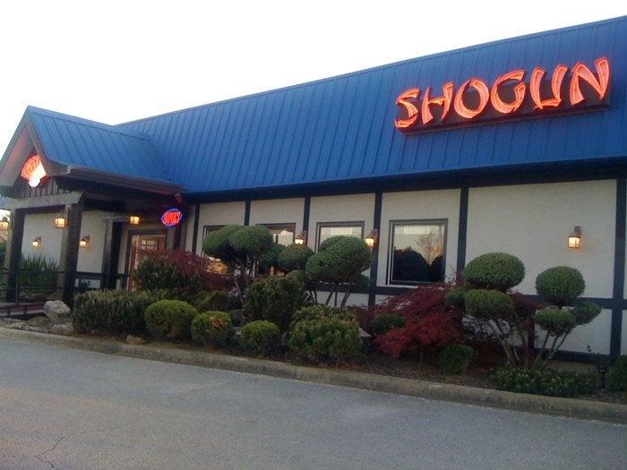 Shogun japanese steak sushi bar gesloten japans for Asian cuisine hoover al