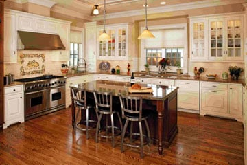 Wood Front Kitchens: Washington, IL