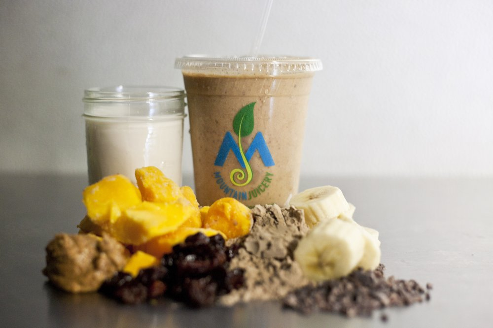 Mountain Juicery: 637 Spartanburg Hwy, Hendersonville, NC