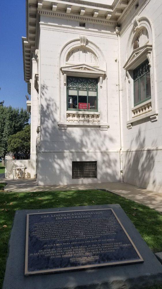 Lincoln assassination incarceration Monument: 546 Jay St, Colusa, CA