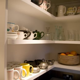 Photo Of Aesthetic Interiors.com   London, United Kingdom. Kitchen Corner  Shelf