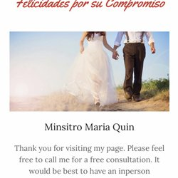 Wedding Ministers Get Quote Officiants 682 Senate St Costa