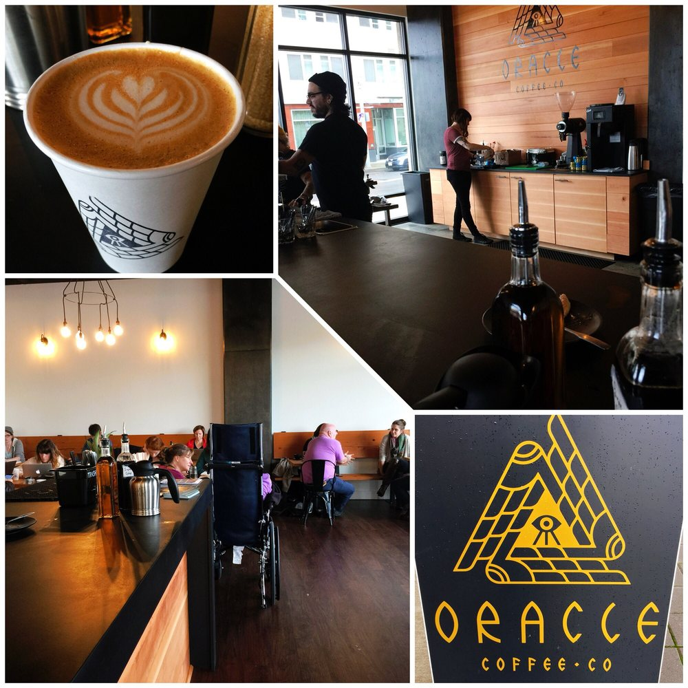 Oracle Coffee Company: 3875 Sw Bond Ave, Portland, OR